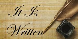 itiswritten